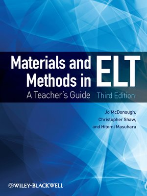 cover image of Materials and Methods in ELT