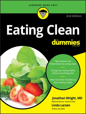cover image of Eating Clean for Dummies