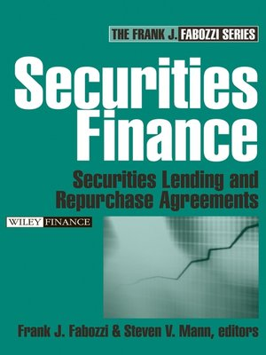 cover image of Securities Finance