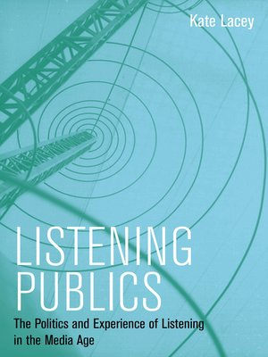 cover image of Listening Publics