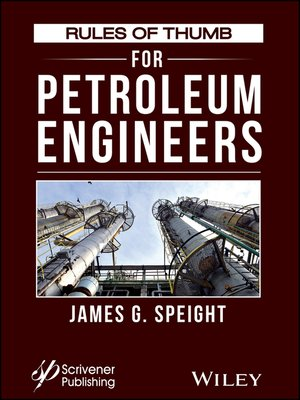 cover image of Rules of Thumb for Petroleum Engineers