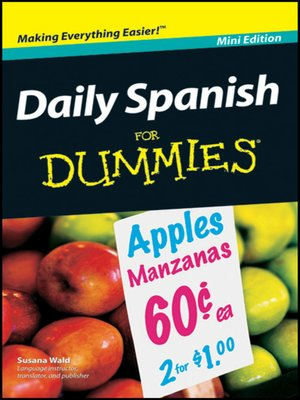 cover image of Daily Spanish For Dummies<sup>®</sup>