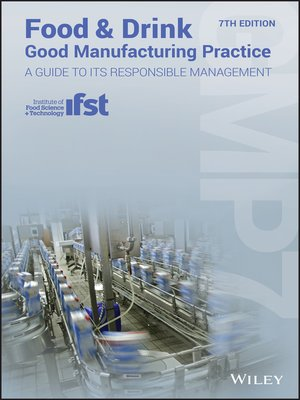 cover image of Food and Drink--Good Manufacturing Practice