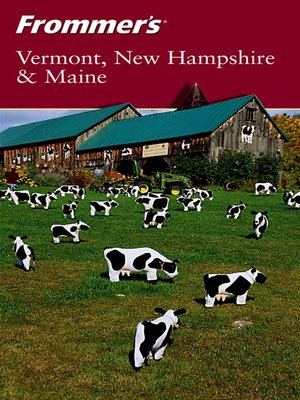 cover image of Frommer's Vermont, New Hampshire & Maine
