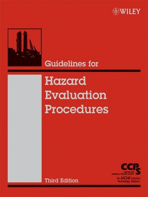 cover image of Guidelines for Hazard Evaluation Procedures