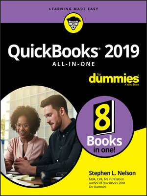 cover image of QuickBooks 2019 All-in-One For Dummies