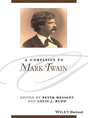 cover image of A Companion to Mark Twain