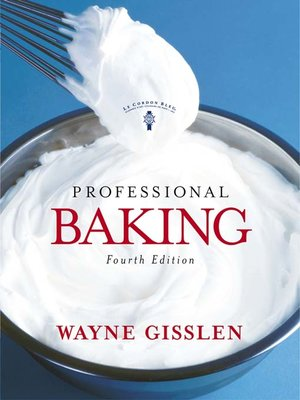 cover image of Professional Baking