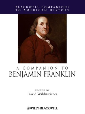 cover image of A Companion to Benjamin Franklin