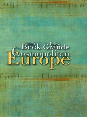 cover image of Cosmopolitan Europe