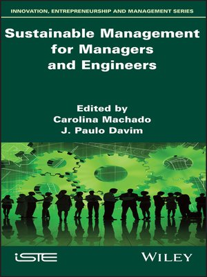 cover image of Sustainable Management for Managers and Engineers