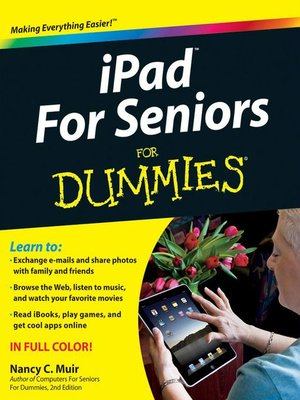 cover image of iPad For Seniors For Dummies