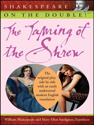 cover image of Shakespeare on the Double! the Taming of the Shrew