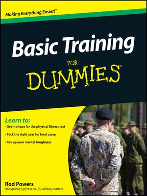 cover image of Basic Training For Dummies