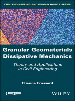 cover image of Granular Geomaterials Dissipative Mechanics