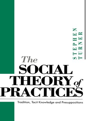 cover image of The Social Theory of Practices