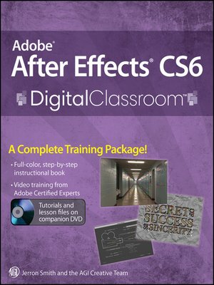 cover image of Adobe After Effects CS6 Digital Classroom