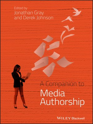cover image of A Companion to Media Authorship