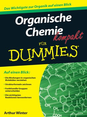 cover image of Organische Chemie kompakt für Dummies