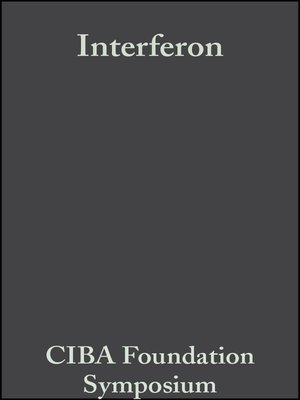 cover image of Interferon
