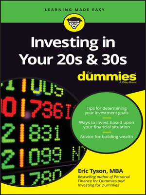 cover image of Investing in Your 20s and 30s For Dummies