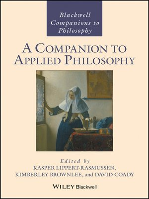 cover image of A Companion to Applied Philosophy