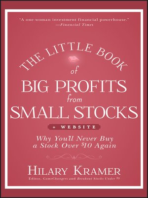 cover image of The Little Book of Big Profits from Small Stocks + Website