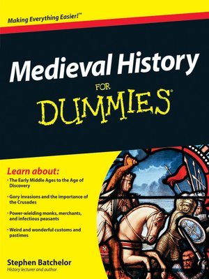 cover image of Medieval History For Dummies