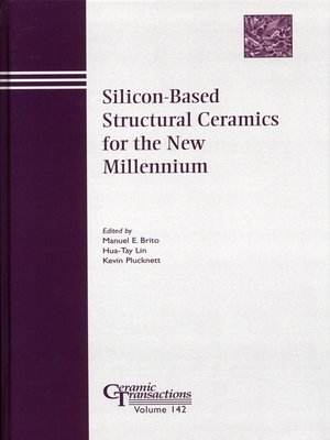 cover image of Silicon-Based Structural Ceramics for the New Millennium
