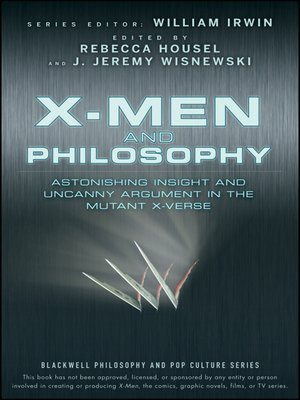 cover image of X-Men and Philosophy