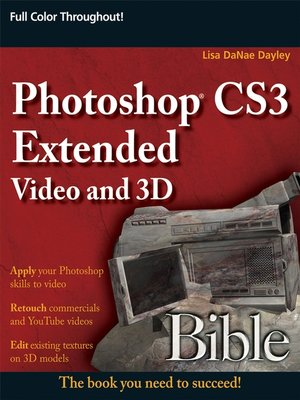 cover image of Photoshop Extended Video and 3D Bible
