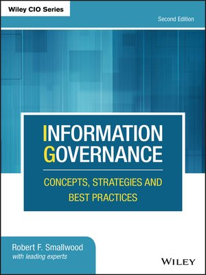 cover image of Information Governance
