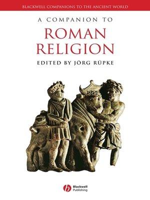 cover image of A Companion to Roman Religion
