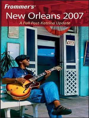 cover image of Frommer's New Orleans 2007