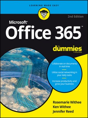 cover image of Office 365 for Dummies
