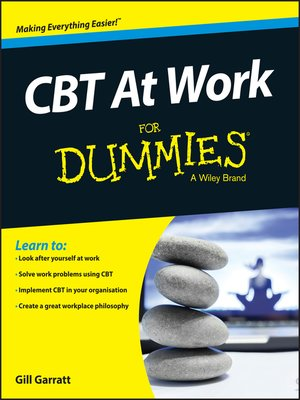 cover image of CBT at Work for Dummies