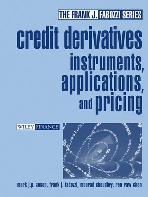 cover image of Credit Derivatives