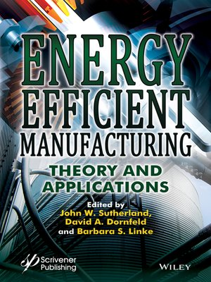 cover image of Energy Efficient Manufacturing