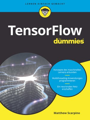cover image of TensorFlow für Dummies