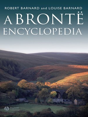 cover image of A Bronte Encyclopedia