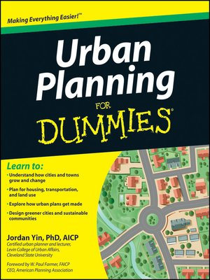cover image of Urban Planning For Dummies