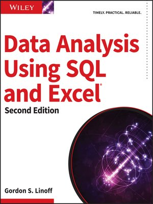 cover image of Data Analysis Using SQL and Excel
