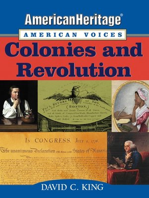 cover image of AmericanHeritage, American Voices