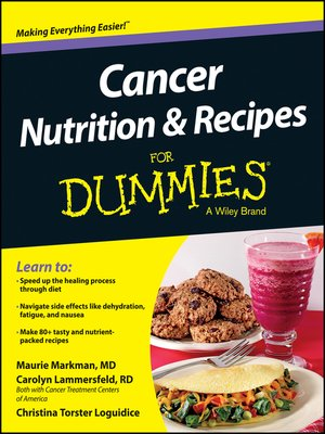 cover image of Cancer Nutrition and Recipes For Dummies