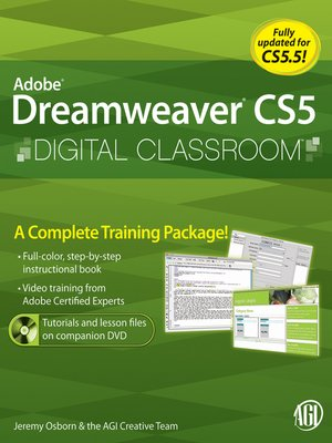 cover image of Dreamweaver CS5 Digital Classroom