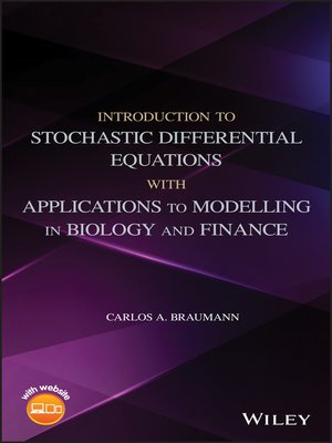 cover image of Introduction to Stochastic Differential Equations with Applications to Modelling in Biology and Finance