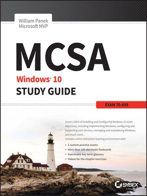 cover image of MCSA Windows 10 Study Guide