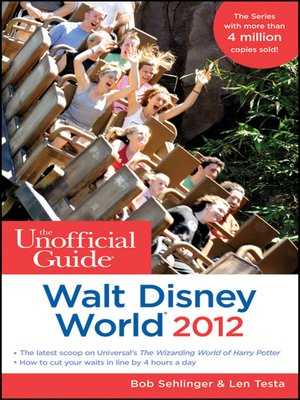 cover image of The Unofficial Guide Walt Disney World 2012