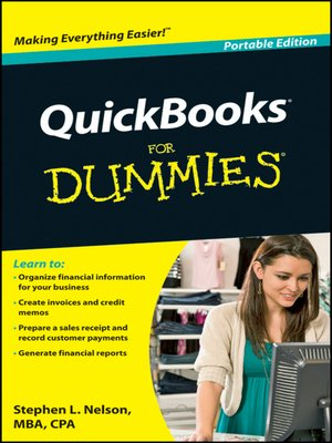 cover image of QuickBooks For Dummies