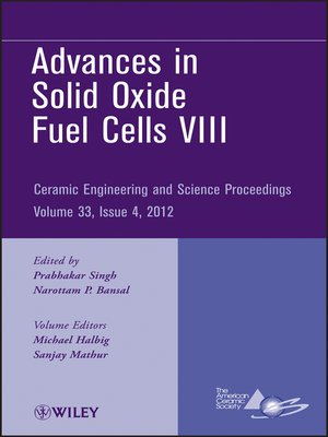 cover image of Advances in Solid Oxide Fuel Cells VIII